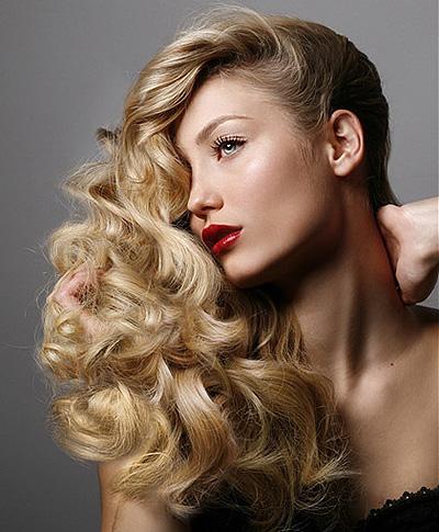 Как да накъдрим косата си без маша