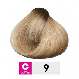 Coiffeo 9 - Много светло русо - 100 ml