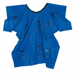 Водоустойчива пелерина синя [120 x 140 cm]