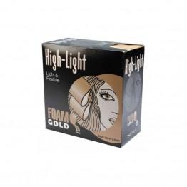 Sibel Highlight Foam Gold - Ролка хартия за кичури [9 см] - 100 м.