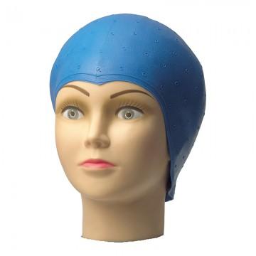 Шапка за кичури синя