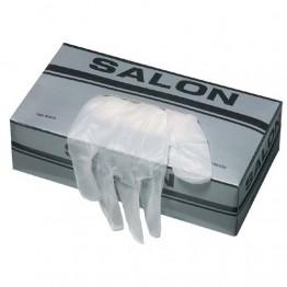 Винилови ръкавици [малки] - 100 бр.
