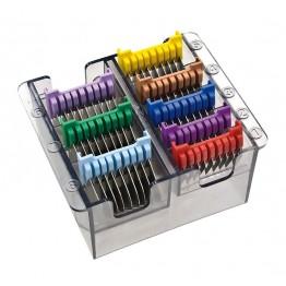 Комплект метални гребени за машинки за подстригване Moser