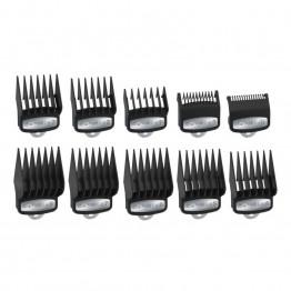 Комплект гребени за машинки за подстригване Wahl -  10 бр.