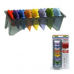 Комплект гребени за машинки за подстригване Wahl -  8 бр.