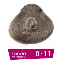 Londacolor 0/11 - Интензивно пепелно микс - 60 ml