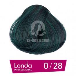 Londacolor 0/28 - Матиращо синьо - 60 ml