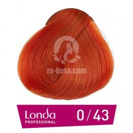 Londacolor 0/43 - Меден златен микс - 60 ml