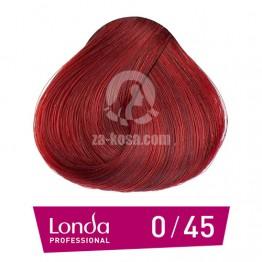 Londacolor 0/45 - Меден червен микс - 60 ml