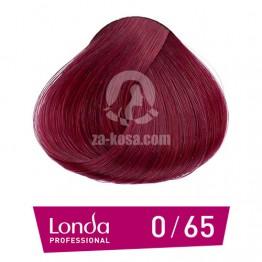 Londacolor 0/65 - Виолетов червен микс- 60 ml