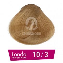 Londacolor 10/3 - Светло русо златно - 60 ml