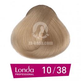 Londacolor 10/38 - Светло русо златно перлено - 60 ml