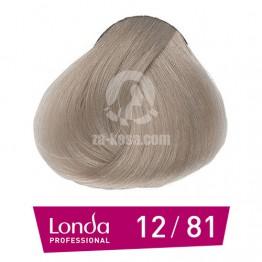 Londacolor 12/81 - Специално русо перлено пепелно - 60 ml
