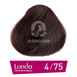 Londacolor 4/75 - Средно кестеняво кафяво червено - 60 ml