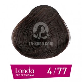 Londacolor 4/77 - Средно кестеняво интензивно кафяво - 60 ml