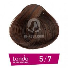 Londacolor 5/7 - Светло кестеняво кафяво - 60 ml