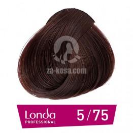 Londacolor 5/75 - Светло кестеняво кафяво червено - 60 ml