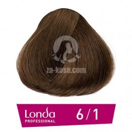 Londacolor 6/1 - Тъмно русо пепелно - 60 ml