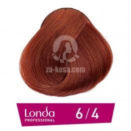 Londacolor 6/4 - Тъмно русо медно - 60 ml