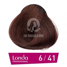 Londacolor 6/41 - Тъмно русо медно пепелно - 60 ml
