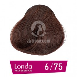 Londacolor 6/75 - Тъмно русо кафяво червено - 60 ml