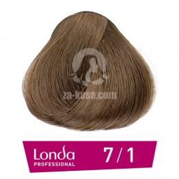 Londacolor 7/1 - Срено русо пепелно - 60 ml