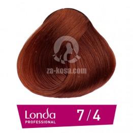 Londacolor 7/4 - Средно русо медно - 60 ml
