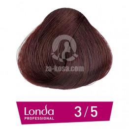 Londacolor 3/5 - Тъмно кестеняво червено - 60 ml