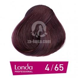 Londacolor 4/65 - Средно кестеняво виолетово - 60 ml