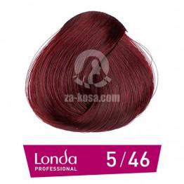 Londacolor 5/46 - Светло кестеняво медно виолетово - 60 ml