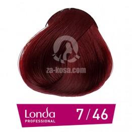 Londacolor 7/46 - Средно русо медно виолетово - 60 ml
