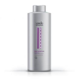 Deep Moisture - Дълбокоовлажняващ шампоан за суха коса - 1000 ml