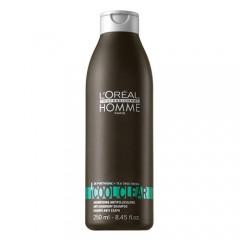 Homme Cool Clear - Шампоан против пърхот за мъже - 250 ml