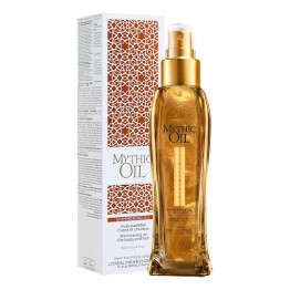 Mythic Oil Shimmering Oil - Митично масло с блестящи частици за коса и тяло - 100 ml