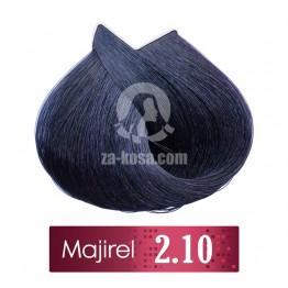 L'oreal Professionnel Majirel 2.10 - Синьо-черно - 50 ml
