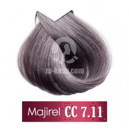 L'oreal Professionnel Majirel 7.11 CC - Средно русо наситено пепелно - 50 ml