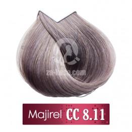 L'oreal Professionnel Majirel 8.11 CC - Светло русо наситено пепелно - 50 ml