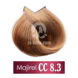 L'oreal Professionnel Majirel 8.3 CC - Светло русо пепелно златисто - 50 ml
