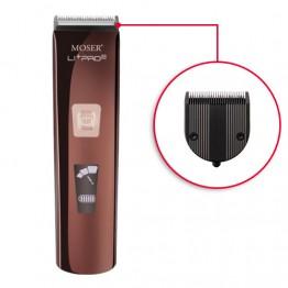 Машинка за подстригване Moser Li+Pro2 Diamond Blade с кабел и акумулатор
