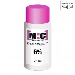 Крем оксидант 6% - M:C 20 vol. - 75ml