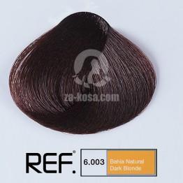 6.003 REF Colour - Тропическо (бахия) натурално тъмно русо - 100 ml