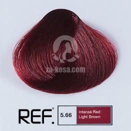 REF Colour 5.66 - Интензивно червено светло кафяво - 100 ml
