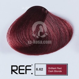 REF Colour 6.62 - Ярко червено тъмно русо - 100 ml