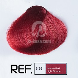 REF Colour 8.66 - Интензивно червено светло русо - 100 ml