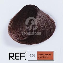 REF Colour 5.00 - Интензивно натурално светло кафяво - 100 ml