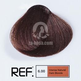 REF Colour 6.00 - Интензивно натурално тъмно русо - 100 ml