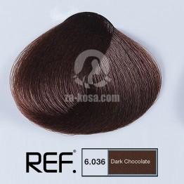 REF Colour 6.036 - Тъмен шоколад - 100 ml