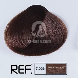 REF Colour 7.036 - Млечен шоколад - 100 ml