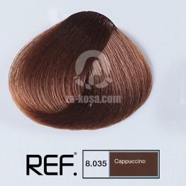 REF Colour 8.035 - Капучино - 100 ml