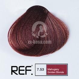 REF Colour 7.53 - Махагон златно русо - 100 ml